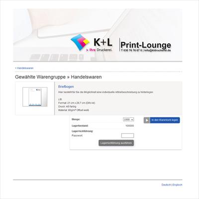 Silder PrintLounge Handelswaren Neu5